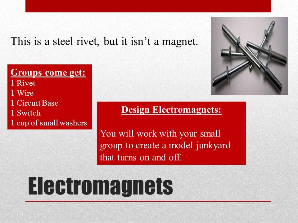 Design Electromagnets: