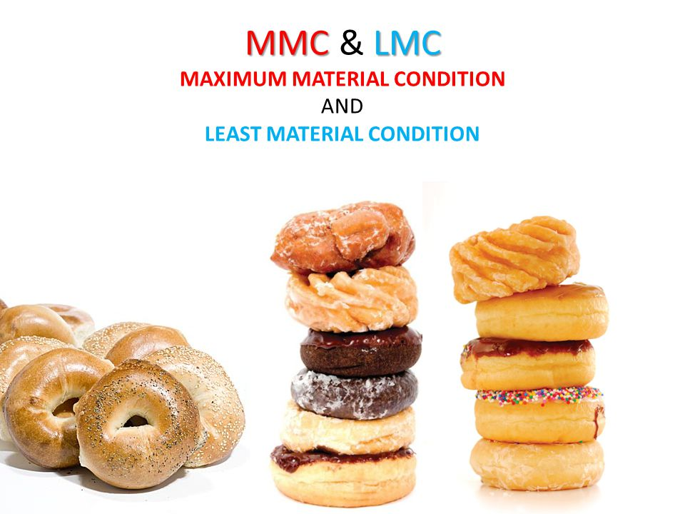 MMC & LMC MAXIMUM MATERIAL CONDITION AND LEAST MATERIAL CONDITION