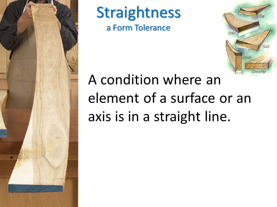 Straightness a Form Tolerance