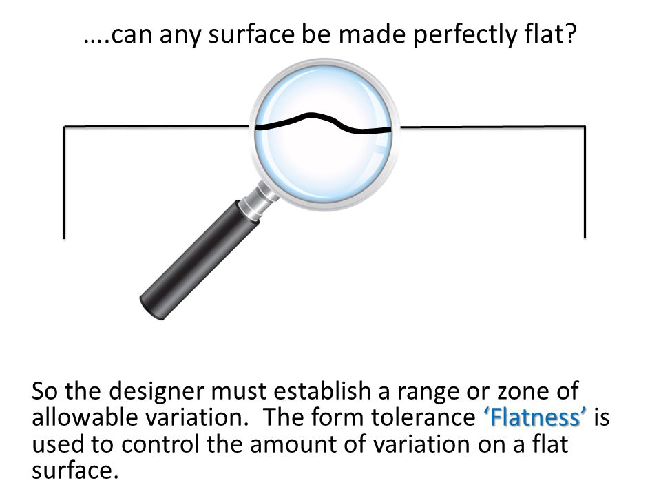 ….can any surface be made perfectly flat