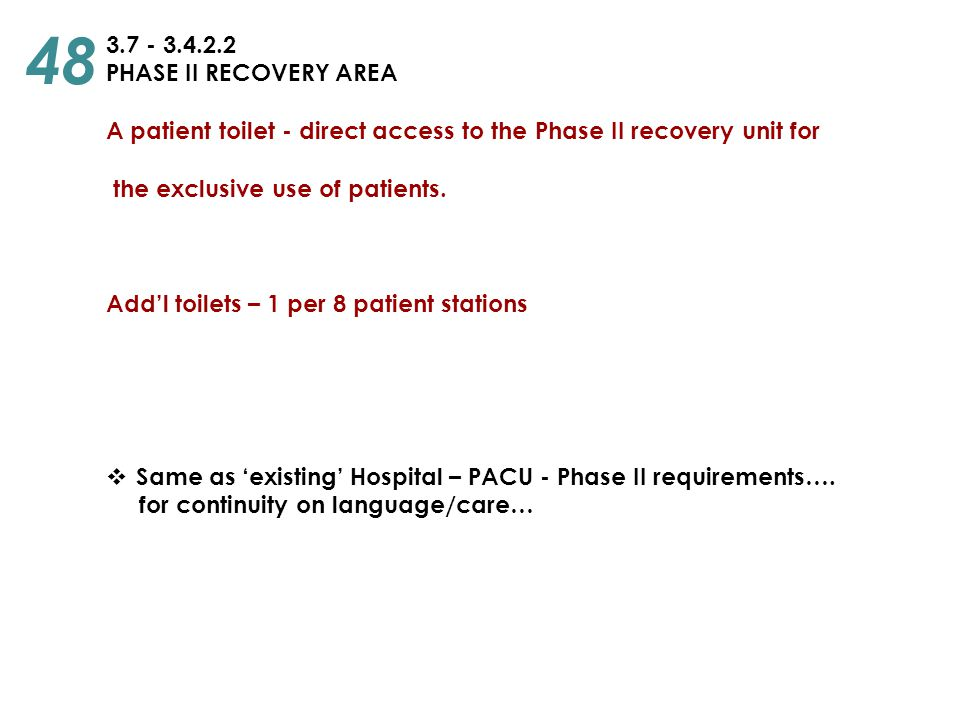 48 3.7 - 3.4.2.2 PHASE II RECOVERY AREA