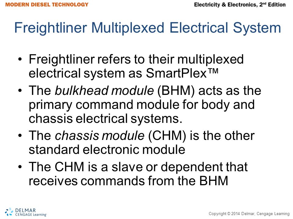 Freightliner Multiplexed Electrical System