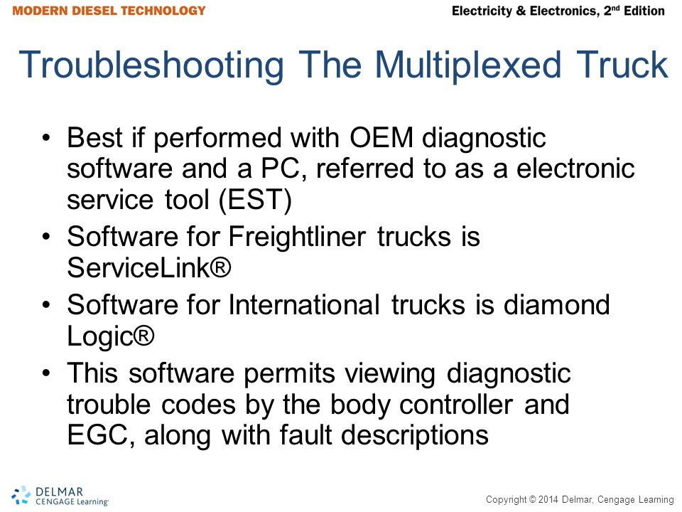 Troubleshooting The Multiplexed Truck