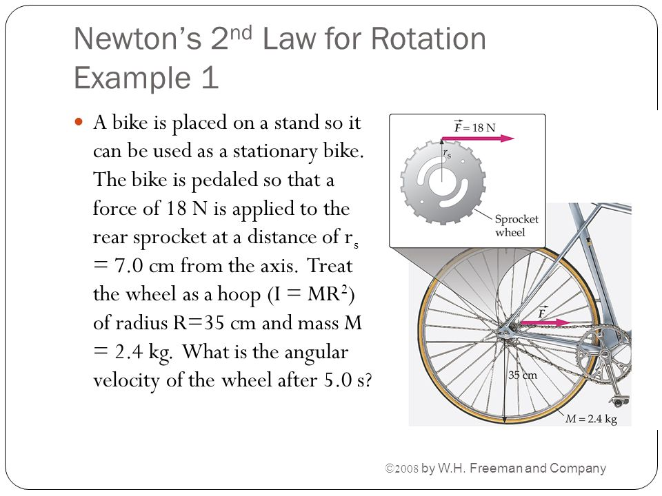Newton's 2nd Law for Rotation Example 1