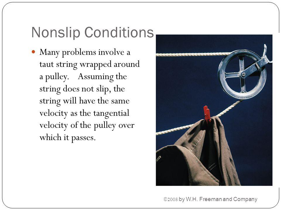 Nonslip Conditions