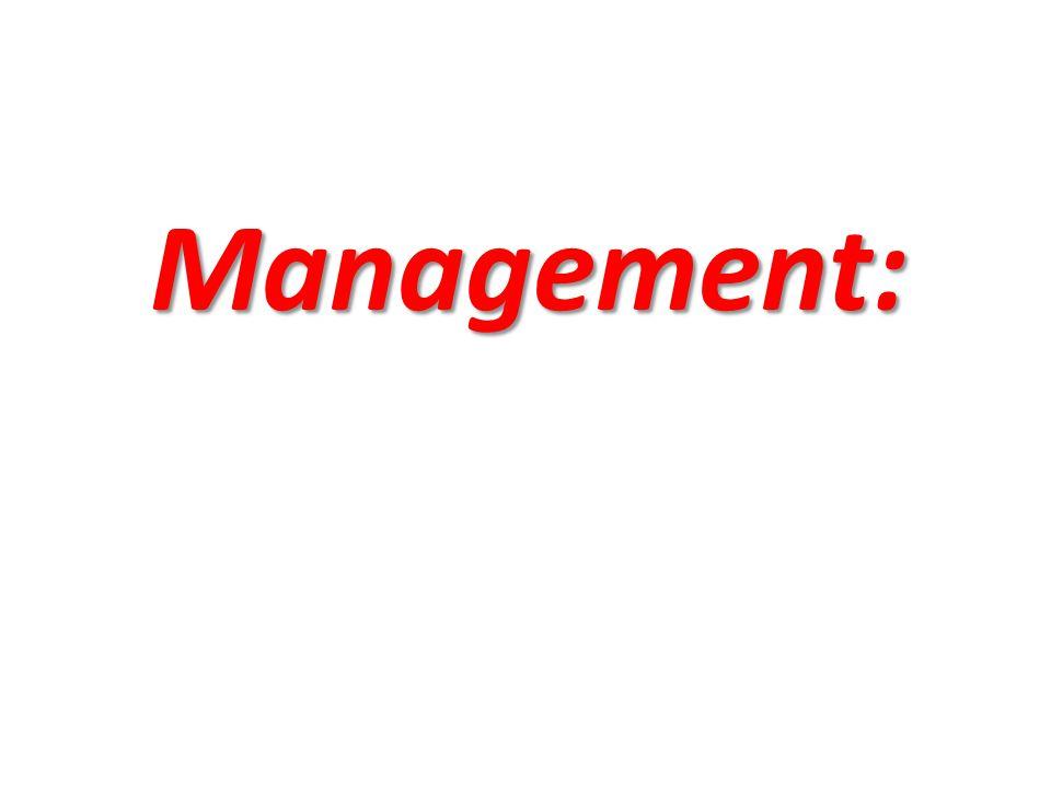 Management: