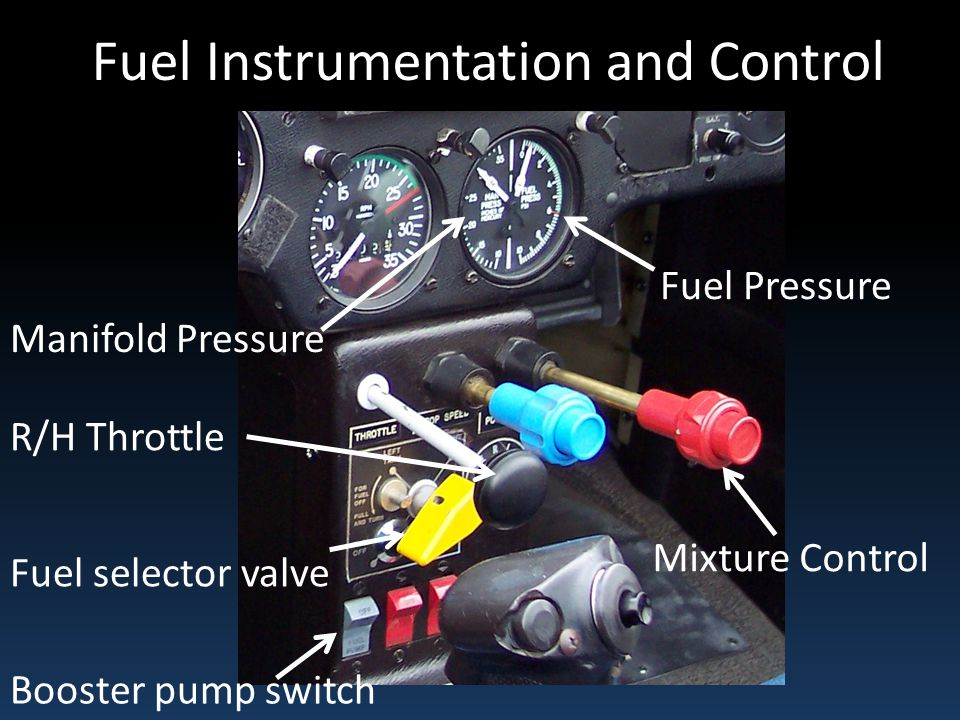 Fuel Instrumentation and Control