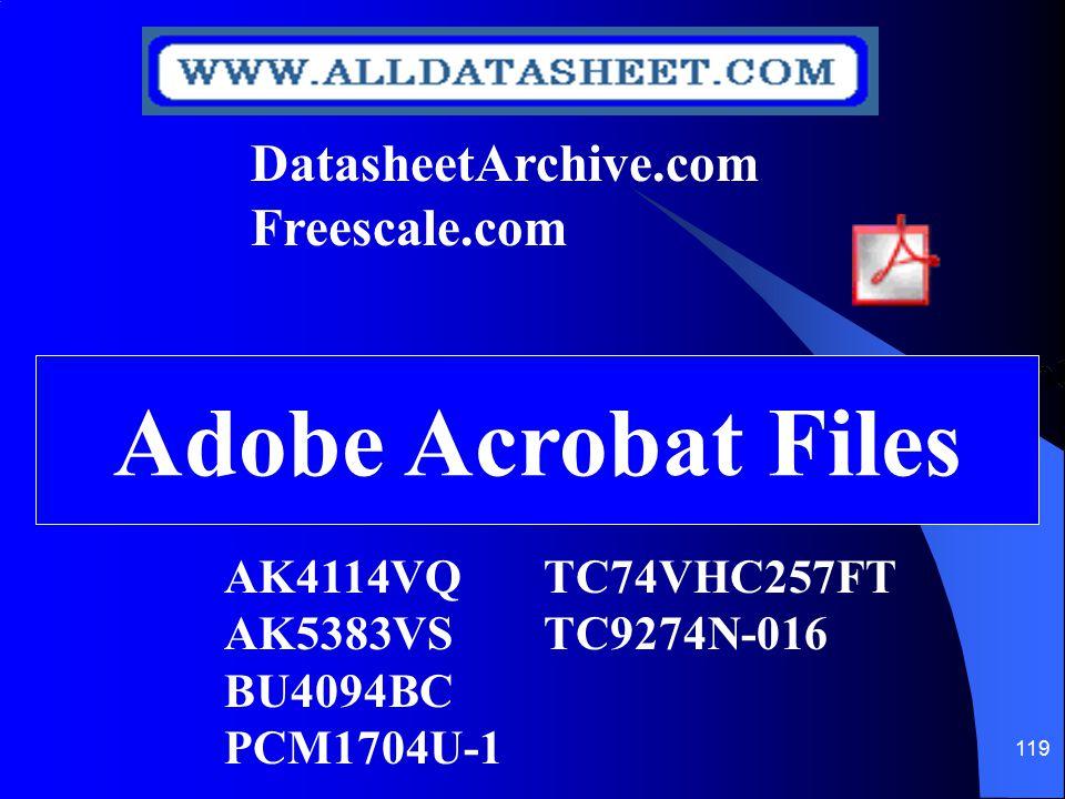 Adobe Acrobat Files DatasheetArchive.com Freescale.com
