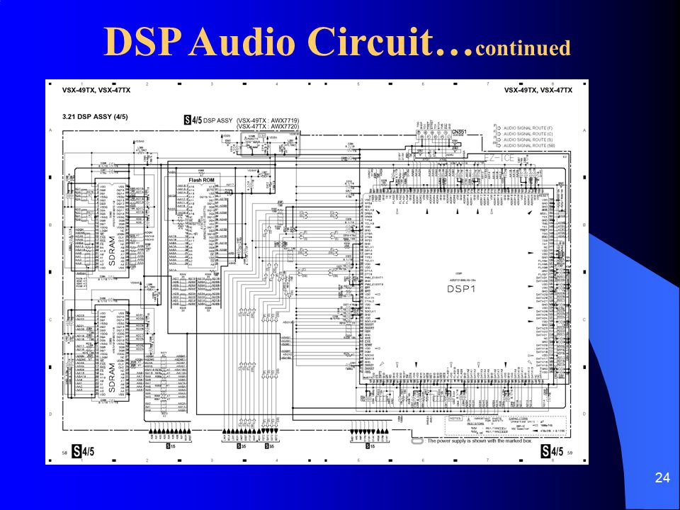 DSP Audio Circuit…continued