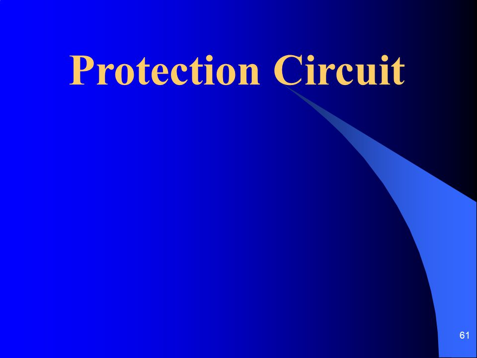 Protection Circuit