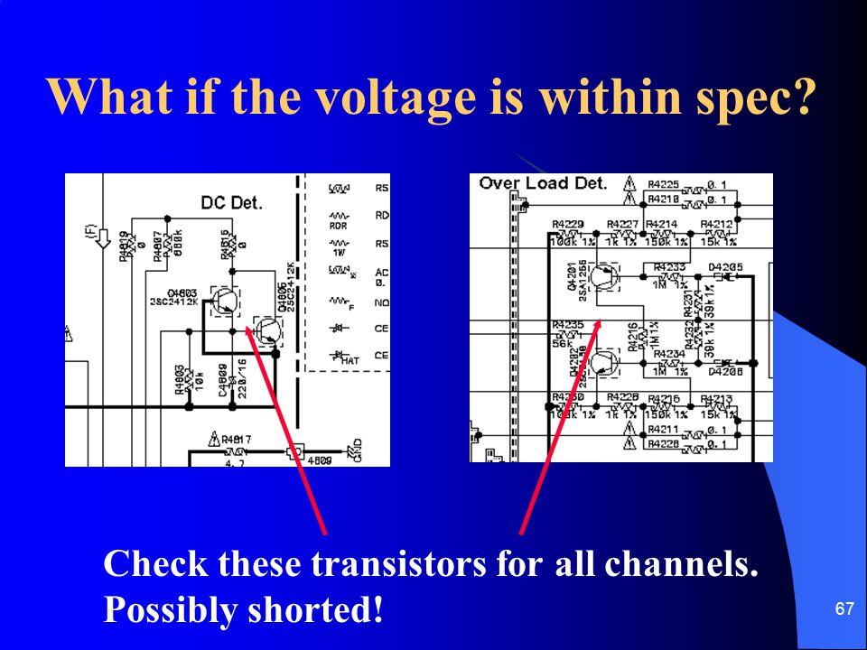 What if the voltage is within spec