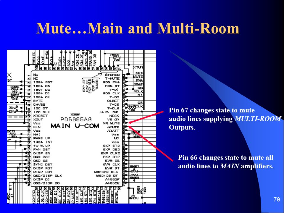 Mute…Main and Multi-Room