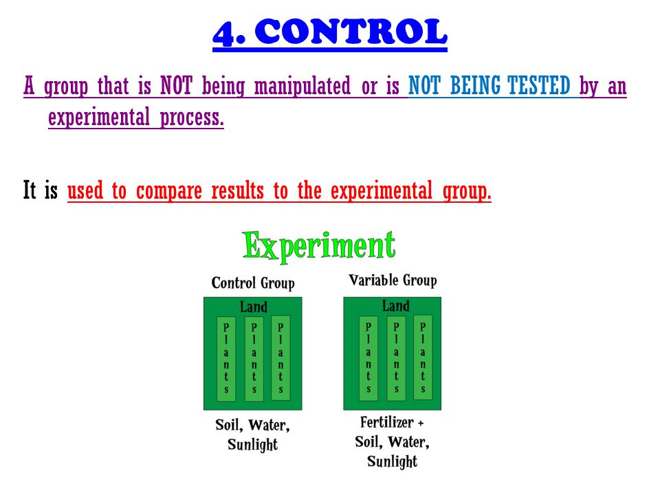 4. CONTROL
