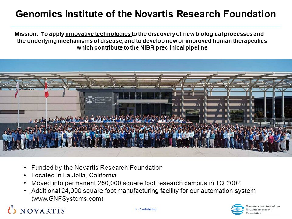 Genomics Institute of the Novartis Research Foundation