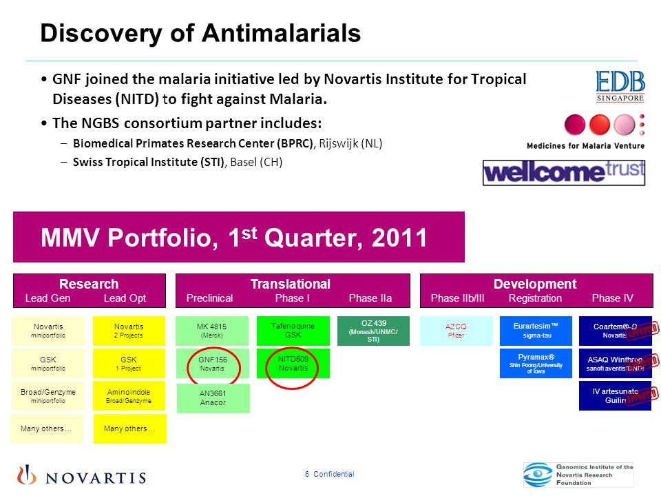 Discovery of Antimalarials