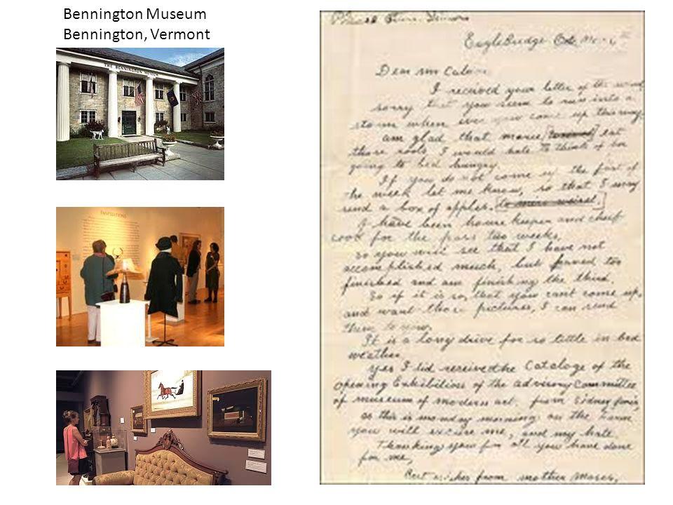Bennington Museum Bennington, Vermont