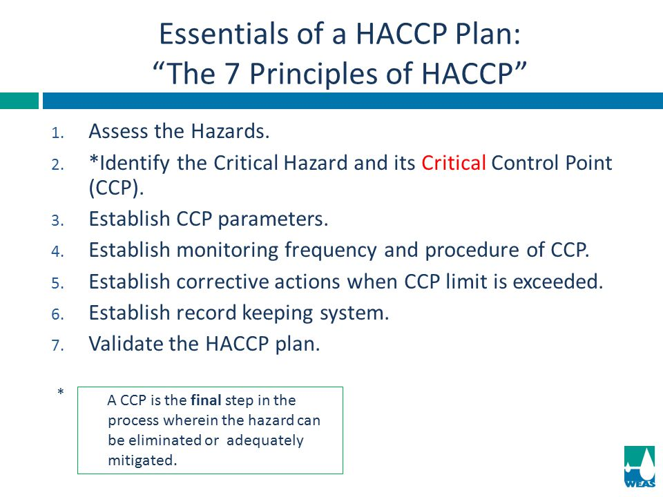 Essentials of a HACCP Plan: The 7 Principles of HACCP