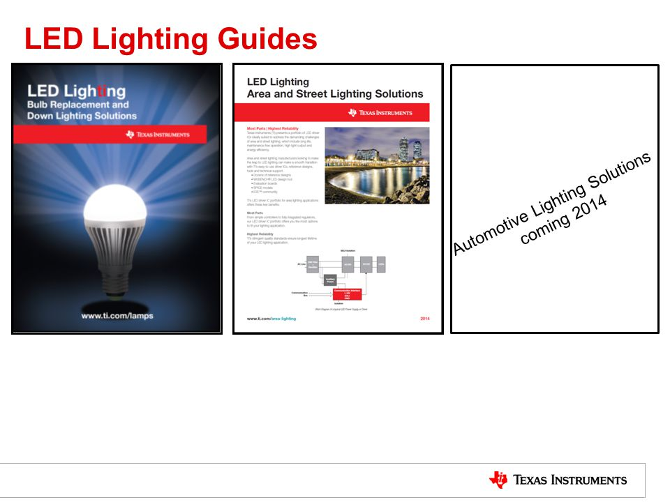Automotive Lighting Solutions