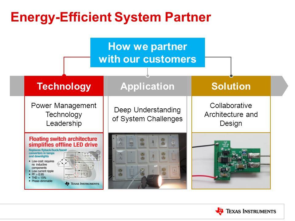 Energy-Efficient System Partner