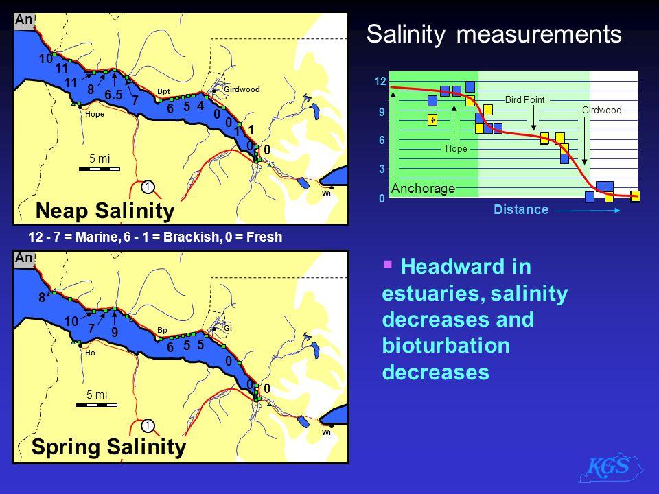 Salinity measurements