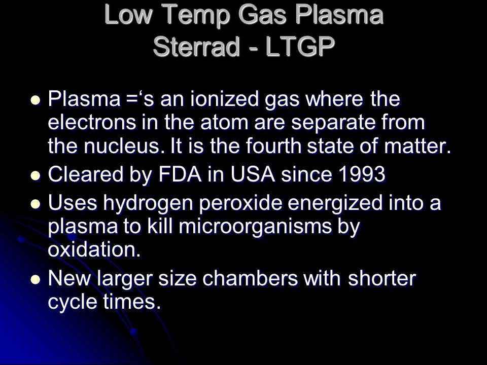 Low Temp Gas Plasma Sterrad - LTGP
