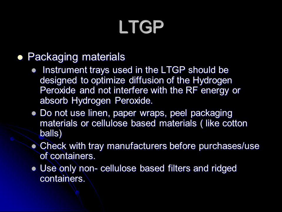 LTGP Packaging materials