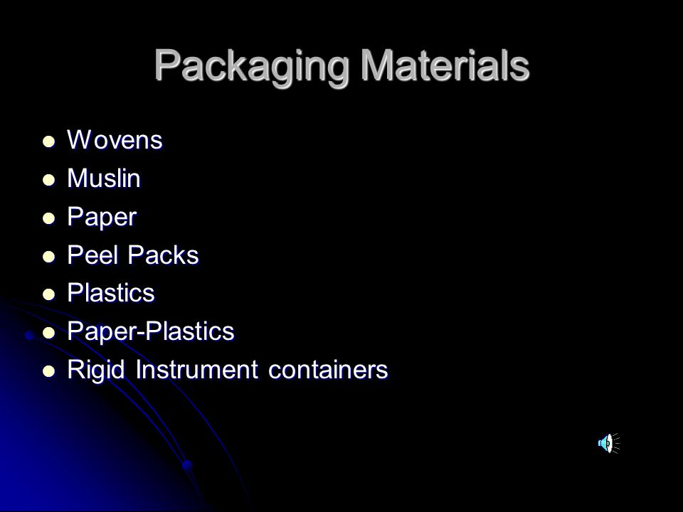 Packaging Materials Wovens Muslin Paper Peel Packs Plastics