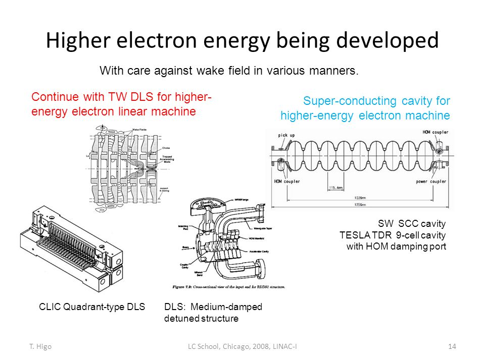 Higher electron energy being developed