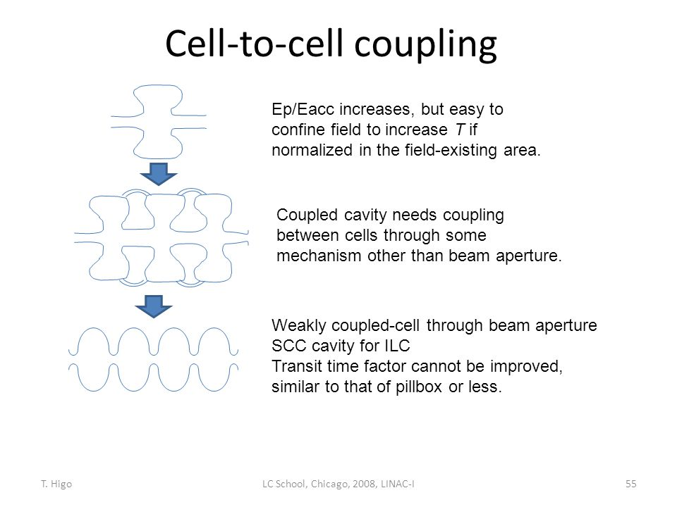 Cell-to-cell coupling