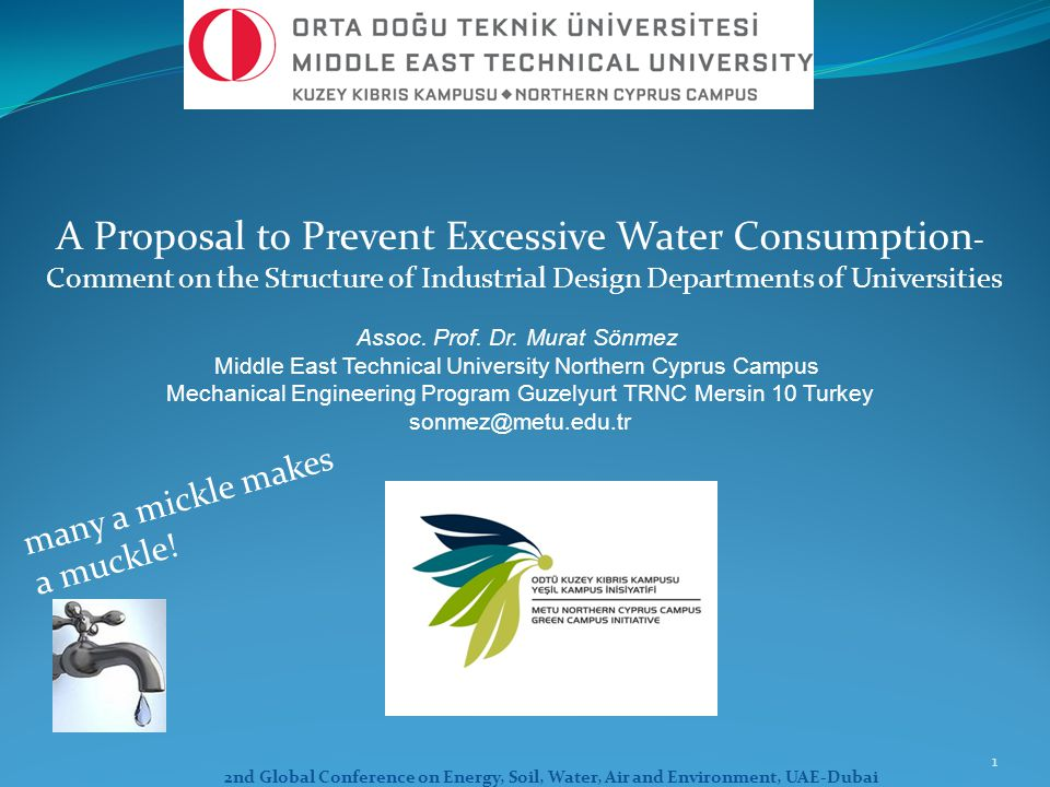 A Proposal to Prevent Excessive Water Consumption-