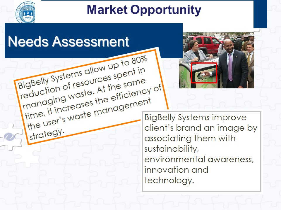 Market Opportunity Needs Assessment