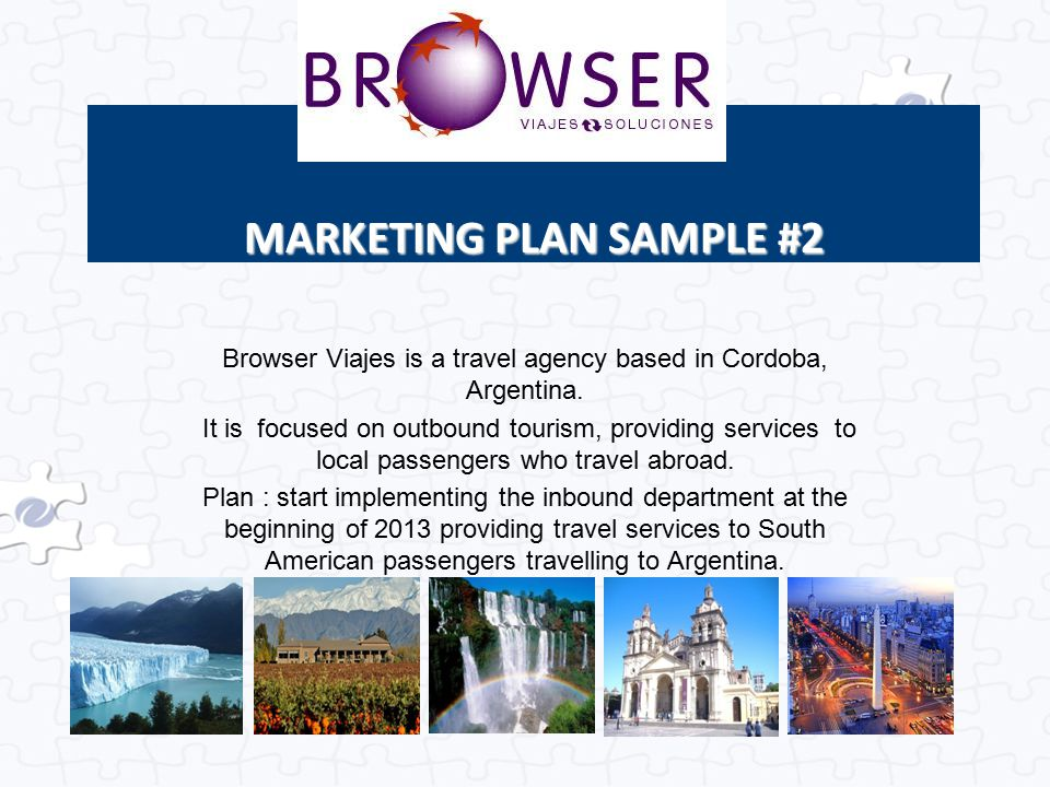 MARKETING PLAN SAMPLE #2