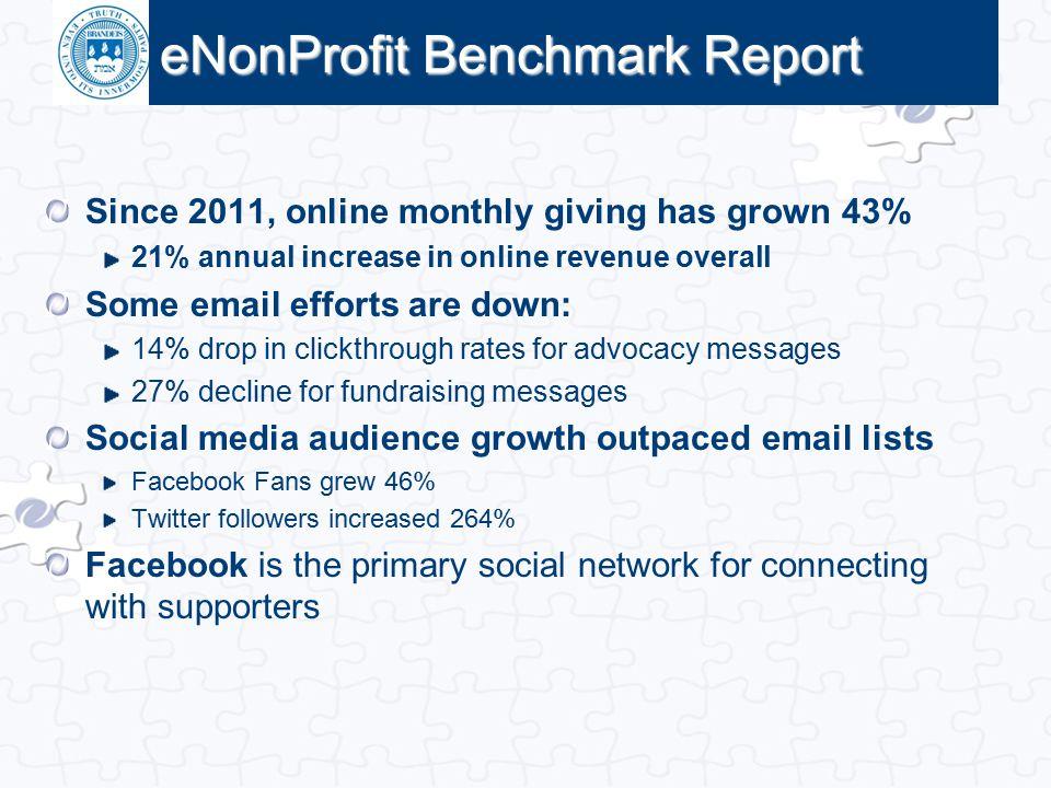 eNonProfit Benchmark Report