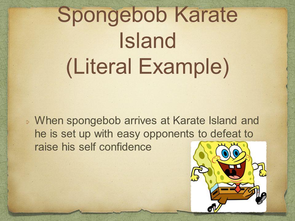 Spongebob Karate Island (Literal Example)