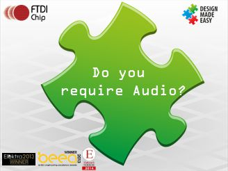 Do you require Audio