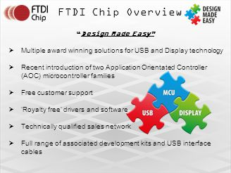 FTDI Chip Overview Design Made Easy