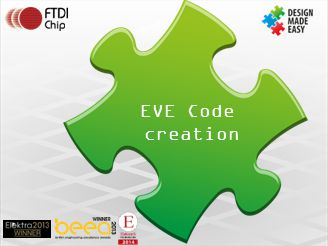 EVE Code creation