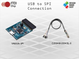 USB to SPI Connection VA800A-SPI C232HM-DDHSL-0
