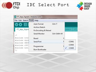 IDE Select Port