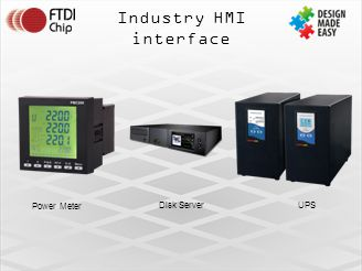 Industry HMI interface Power Meter Disk Server UPS