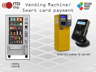 Smart card scanner for payment
