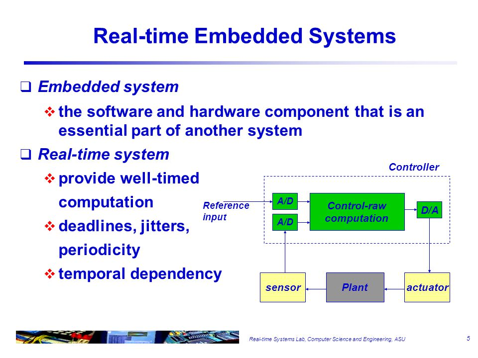 Embedded Systems -- Examples