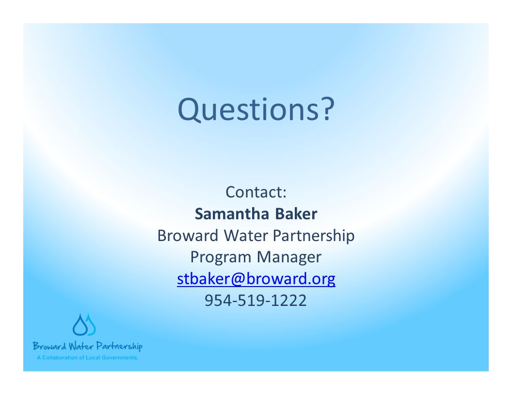 Broward Water Partnership