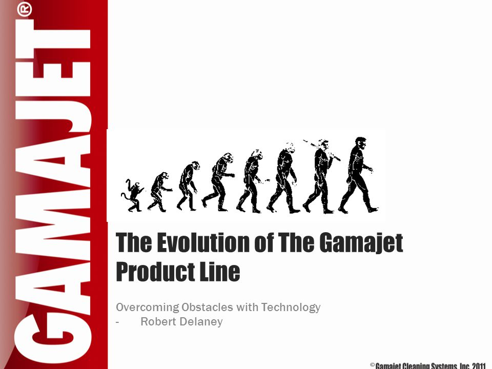 The Evolution of The Gamajet Product Line