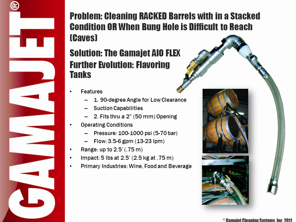 Solution: The Gamajet AIO FLEX Further Evolution: Flavoring Tanks