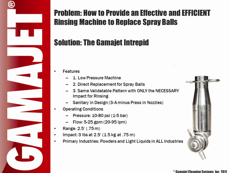 Solution: The Gamajet Intrepid