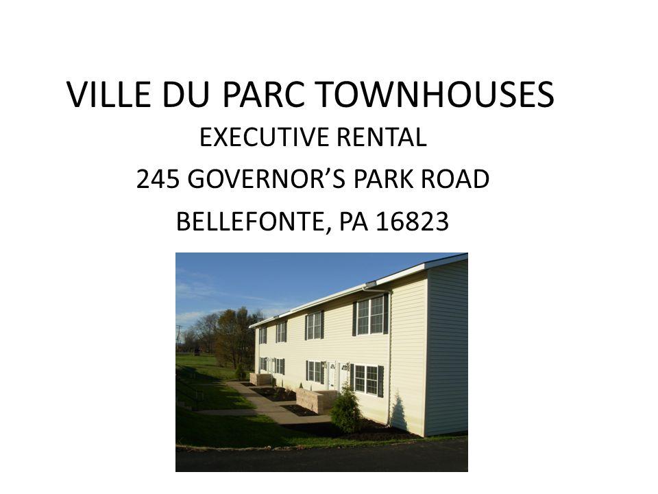 VILLE DU PARC TOWNHOUSES