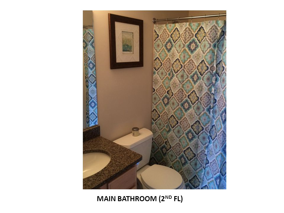 MAIN BATHROOM (2ND FL)