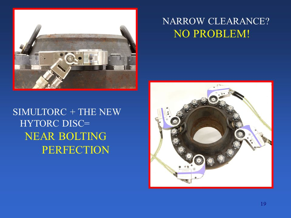 NO PROBLEM! PERFECTION NARROW CLEARANCE SIMULTORC + THE NEW