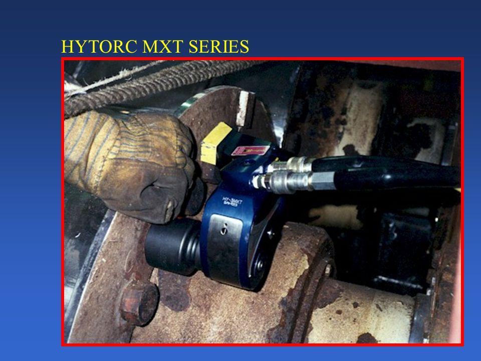 HYTORC MXT SERIES Unibody housing 3000+ft/lbs per lb. of weight